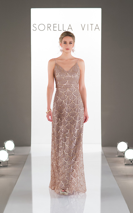 9086 gown from the 2018 Sorella Vita collection, as seen on Bride.Canada
