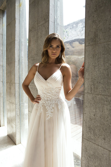 M1826Z Paige gown from the 2018 Mia Solano collection, as seen on Bride.Canada