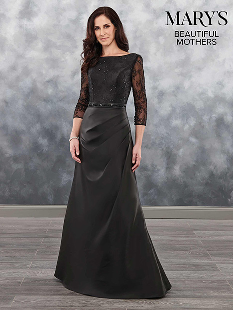 MB8032 gown from the 2018 Mary's Bridal: Beautiful Mothers collection, as seen on Bride.Canada