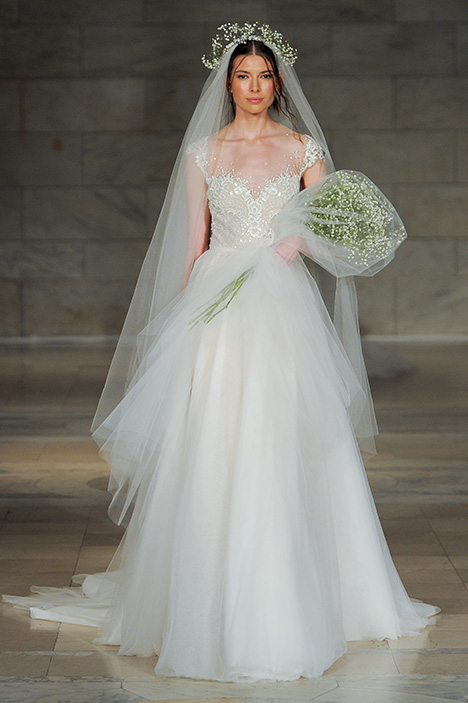 Cherish gown from the 2018 Reem Acra collection, as seen on Bride.Canada