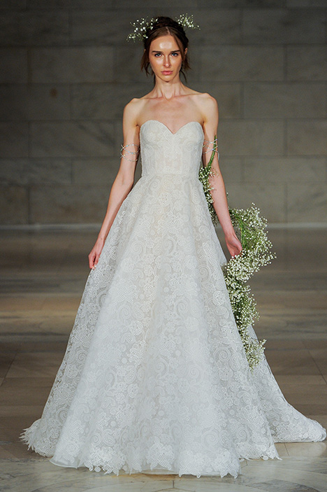 Charm gown from the 2018 Reem Acra collection, as seen on Bride.Canada