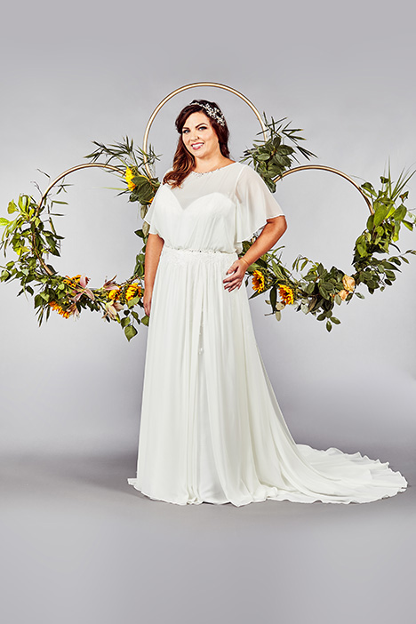 Taunton gown from the 2019 Callista collection, as seen on Bride.Canada