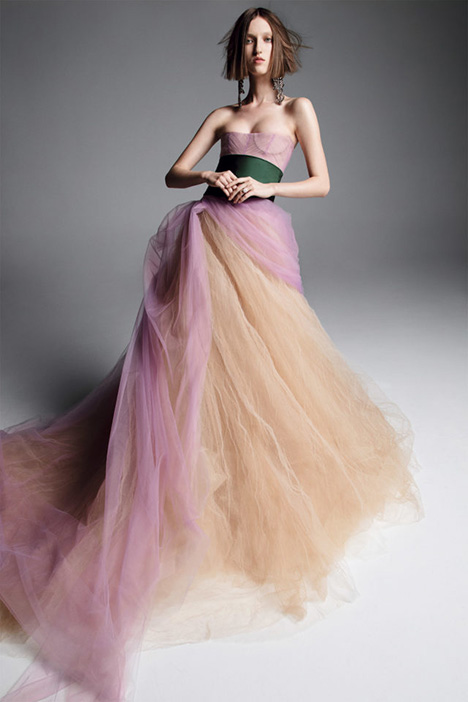 ALEXANDRIA gown from the 2019 Vera Wang collection, as seen on Bride.Canada