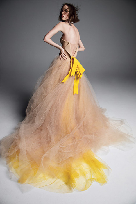 VERUSHKA gown from the 2019 Vera Wang collection, as seen on Bride.Canada