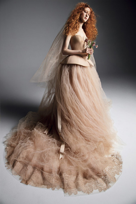 VIKTORIYA gown from the 2019 Vera Wang collection, as seen on Bride.Canada
