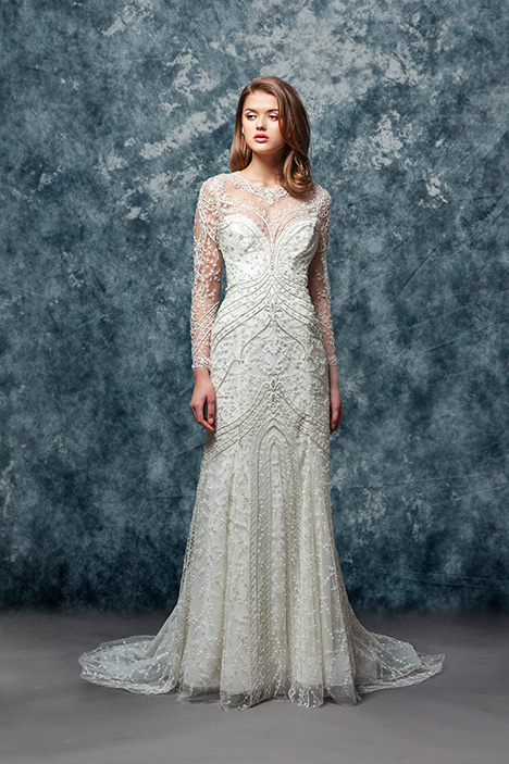 EF803 Iris gown from the 2018 Enaura Bridal collection, as seen on Bride.Canada
