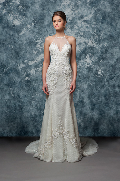 EF805 Jemilla  gown from the 2018 Enaura Bridal collection, as seen on Bride.Canada