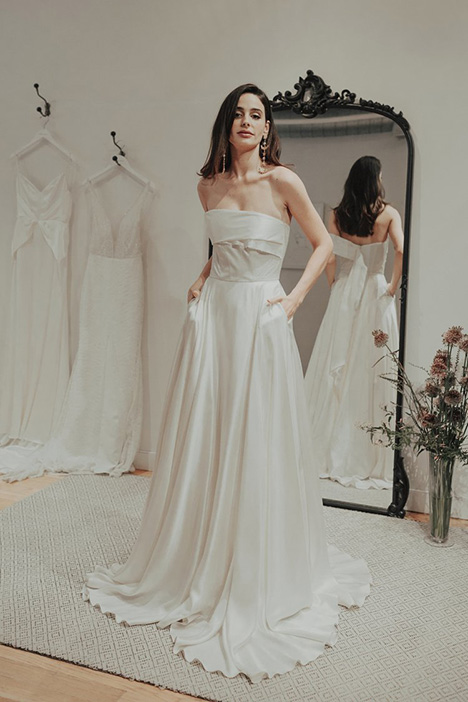 Palace gown from the 2018 Brides by Sarah Seven collection, as seen on Bride.Canada