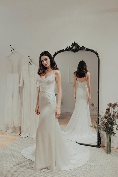 Empress gown from the 2018 Brides by Sarah Seven collection, as seen on Bride.Canada