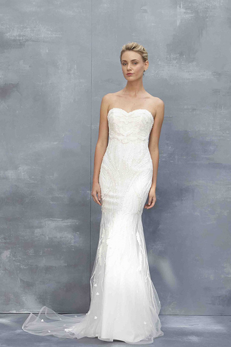 Nessa gown from the 2018 Kenneth Pool collection, as seen on Bride.Canada