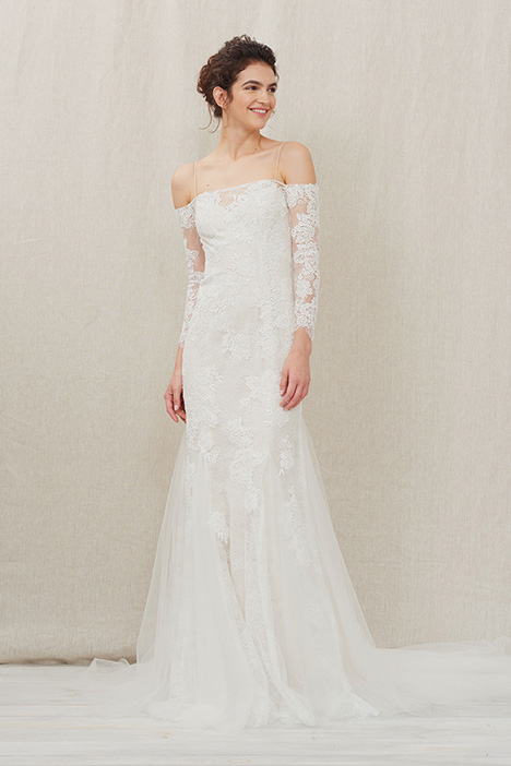 Avie gown from the 2018 Christos collection, as seen on Bride.Canada