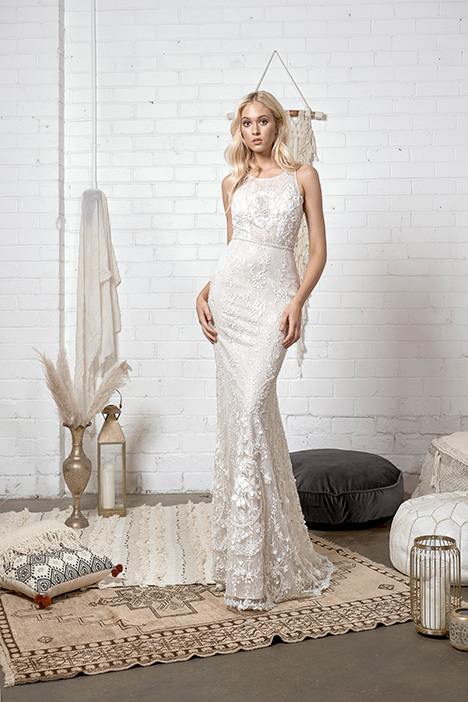 WA 244 gown from the 2019 White April collection, as seen on Bride.Canada
