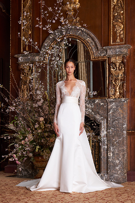Albertine gown from the 2019 Monique Lhuillier collection, as seen on Bride.Canada