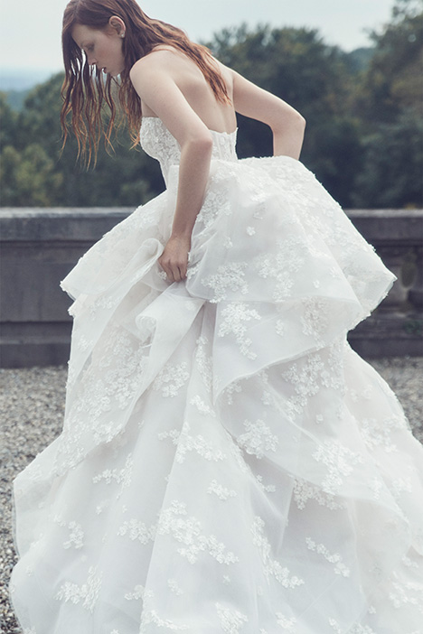 Everest gown from the 2019 Monique Lhuillier collection, as seen on Bride.Canada