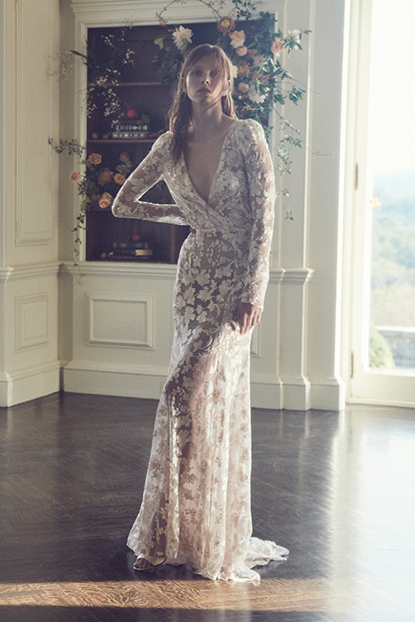 Julian gown from the 2019 Monique Lhuillier collection, as seen on Bride.Canada