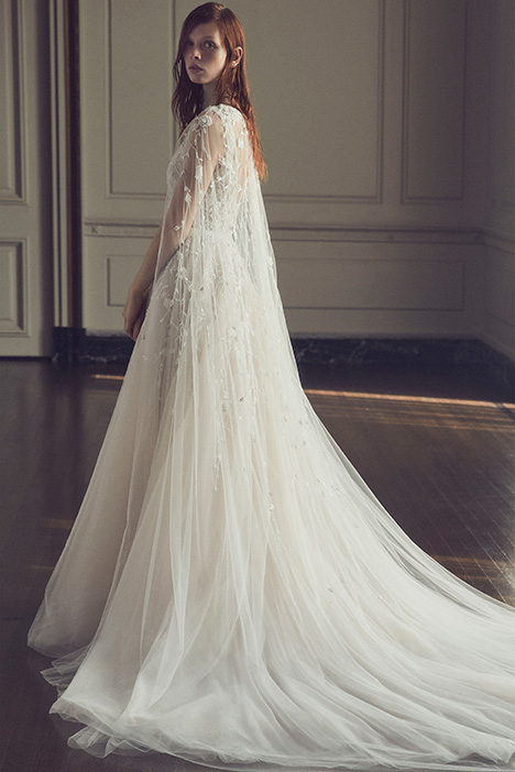 Meadow gown from the 2019 Monique Lhuillier collection, as seen on Bride.Canada