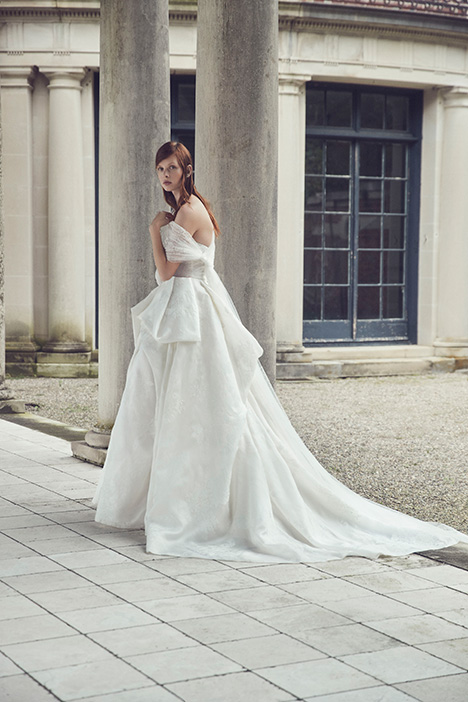 Selena gown from the 2019 Monique Lhuillier collection, as seen on Bride.Canada