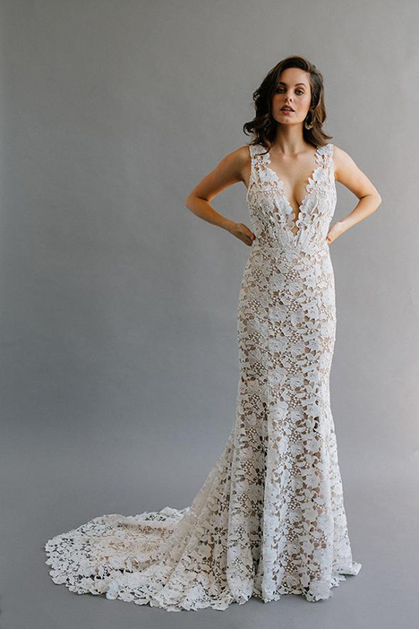 Bloem gown from the 2019 Laudae collection, as seen on Bride.Canada