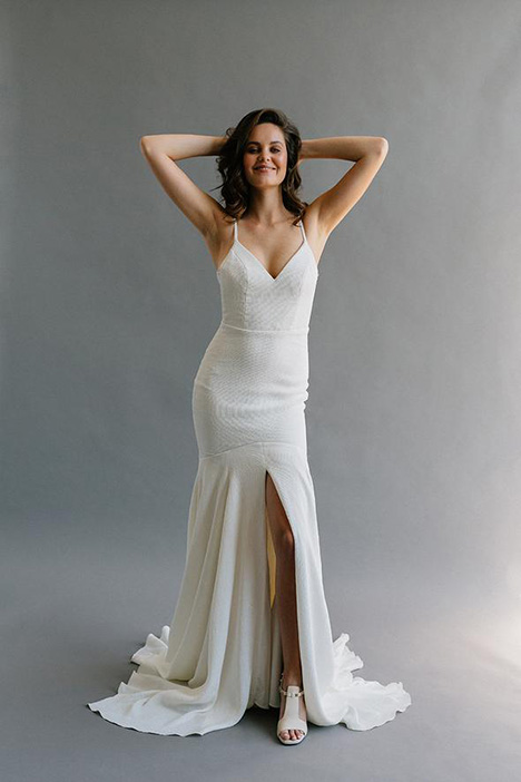 Bryant gown from the 2019 Laudae collection, as seen on Bride.Canada