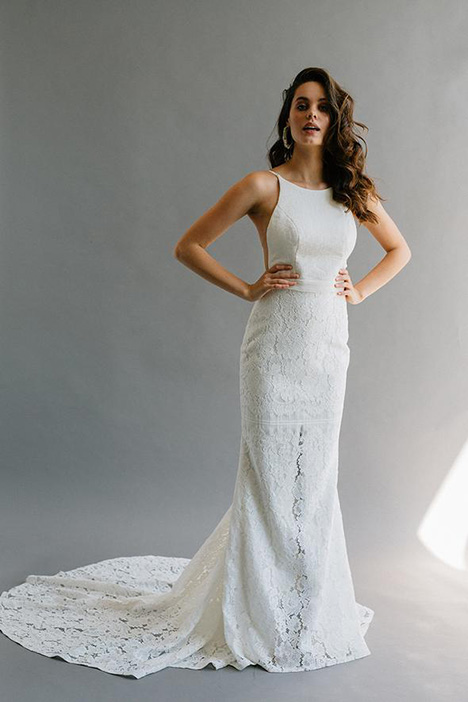 Kloof gown from the 2019 Laudae collection, as seen on Bride.Canada