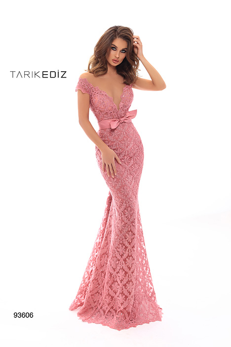 93606 gown from the 2019 Tarik Ediz: Evening Dress collection, as seen on Bride.Canada