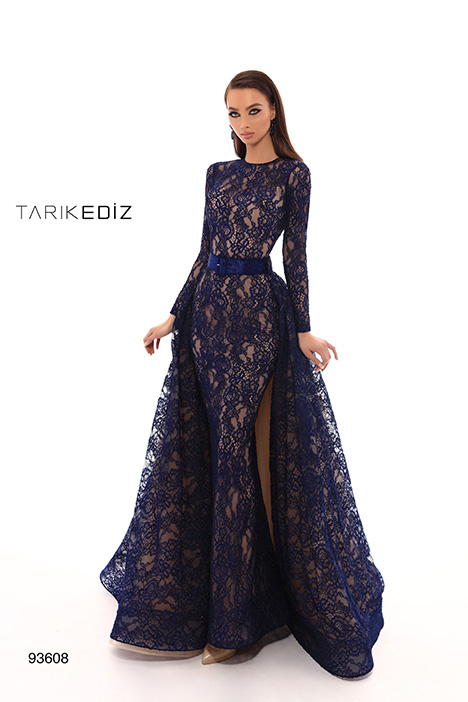 93608 gown from the 2019 Tarik Ediz: Evening Dress collection, as seen on Bride.Canada