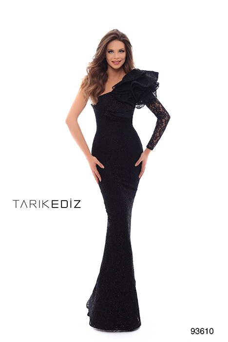 93610 gown from the 2019 Tarik Ediz: Evening Dress collection, as seen on Bride.Canada