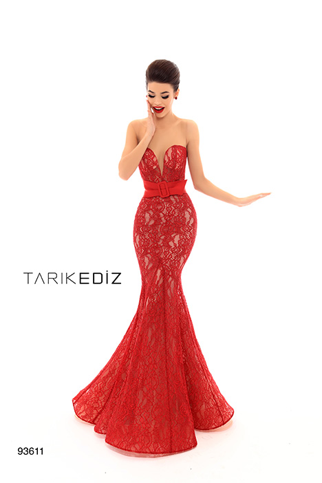 93611 gown from the 2019 Tarik Ediz: Evening Dress collection, as seen on Bride.Canada