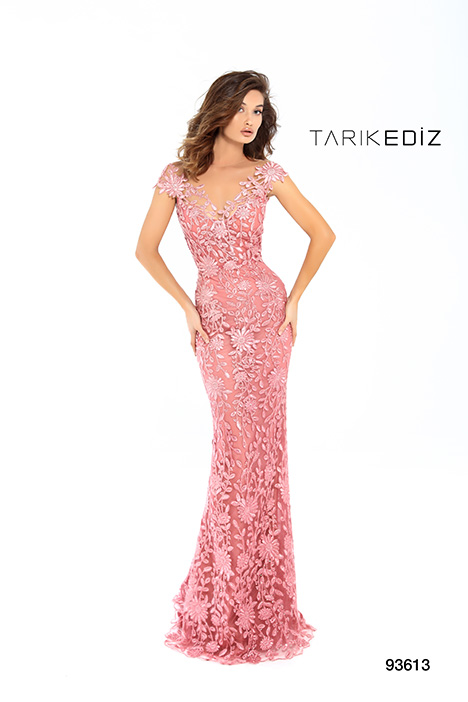 93613 gown from the 2019 Tarik Ediz: Evening Dress collection, as seen on Bride.Canada