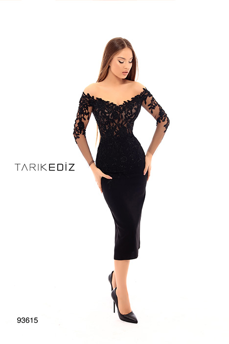 93615 gown from the 2019 Tarik Ediz: Evening Dress collection, as seen on Bride.Canada