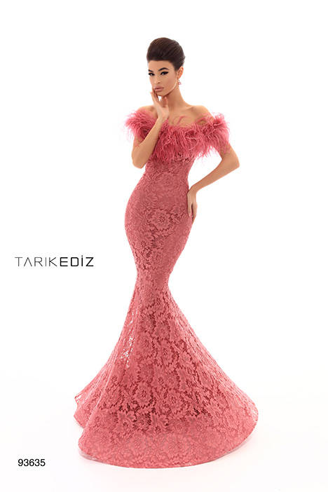 93635 gown from the 2019 Tarik Ediz: Evening Dress collection, as seen on Bride.Canada