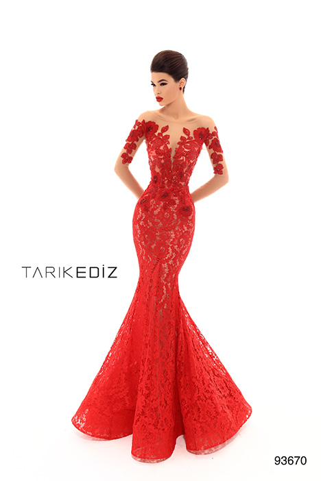 93670 gown from the 2019 Tarik Ediz: Evening Dress collection, as seen on Bride.Canada