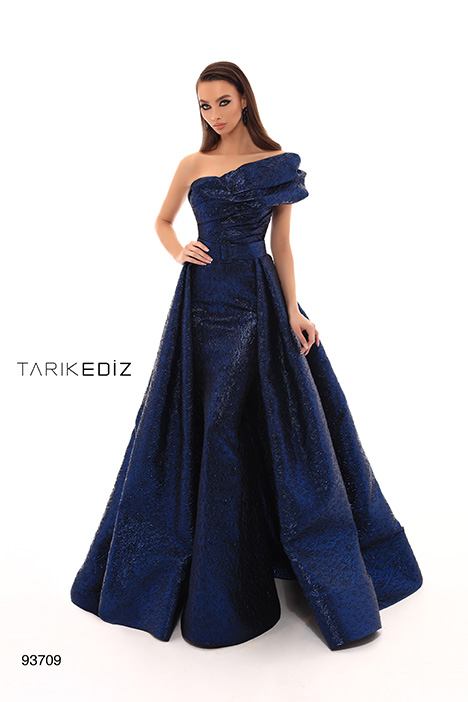 93709 (+ overskirt) gown from the 2019 Tarik Ediz: Evening Dress collection, as seen on Bride.Canada