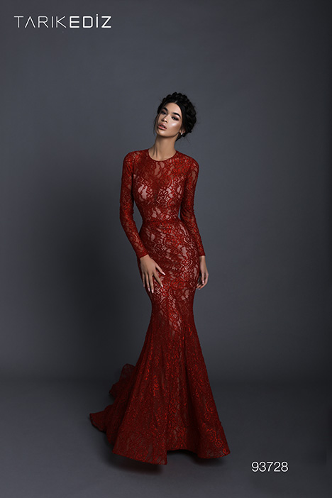93728 gown from the 2019 Tarik Ediz: Evening Dress collection, as seen on Bride.Canada