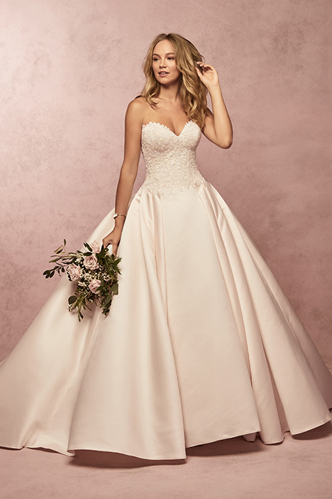 Francis gown from the 2019 Rebecca Ingram collection, as seen on Bride.Canada