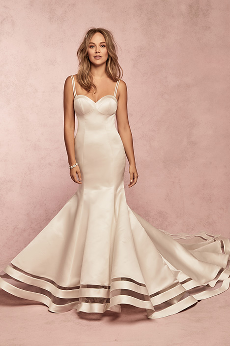 Jamilia gown from the 2019 Rebecca Ingram collection, as seen on Bride.Canada