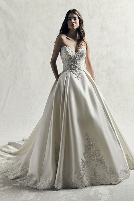 Kimora (Alt1) gown from the 2019 Sottero and Midgley collection, as seen on Bride.Canada