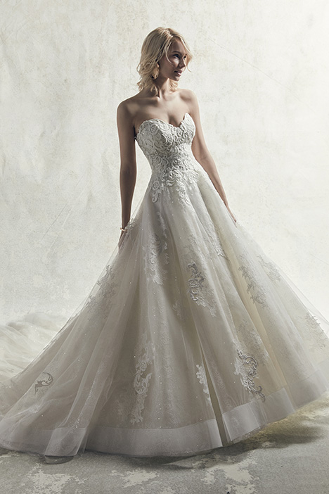 Tucker gown from the 2019 Sottero and Midgley collection, as seen on Bride.Canada