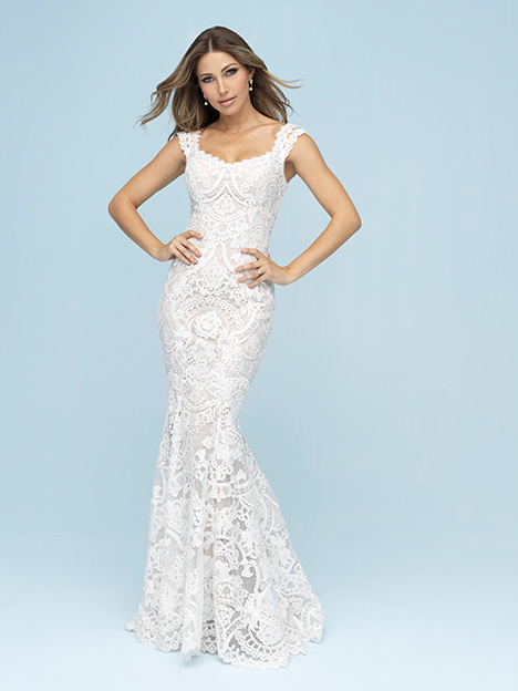 9609 gown from the 2019 Allure Bridals collection, as seen on Bride.Canada