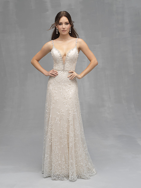 C522 gown from the 2019 Allure Couture collection, as seen on Bride.Canada
