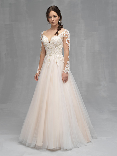 C528 gown from the 2019 Allure Couture collection, as seen on Bride.Canada