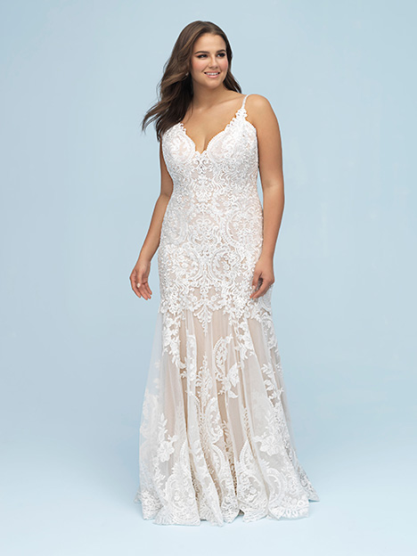 W441 gown from the 2019 Allure Women collection, as seen on Bride.Canada