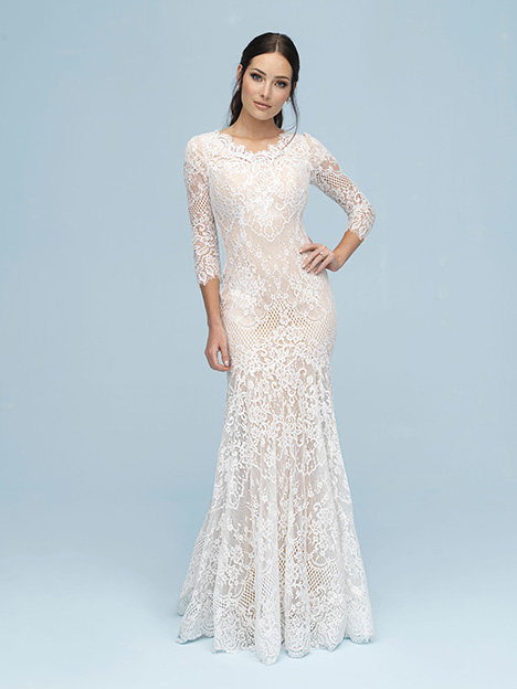 M615 gown from the 2019 Allure Modest collection, as seen on Bride.Canada
