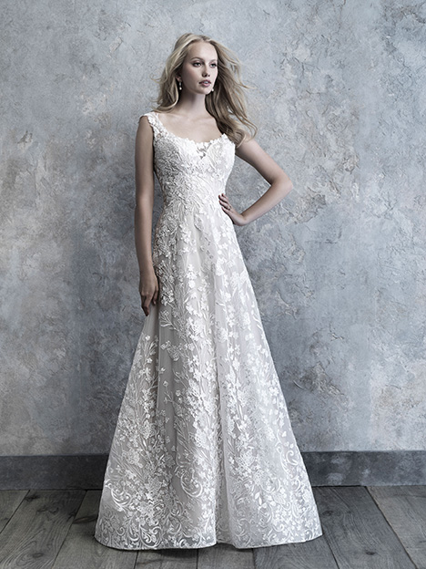MJ519 gown from the 2019 Madison James collection, as seen on Bride.Canada