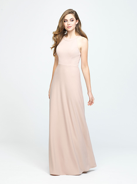 1600 gown from the 2019 Allure Bridesmaids collection, as seen on Bride.Canada