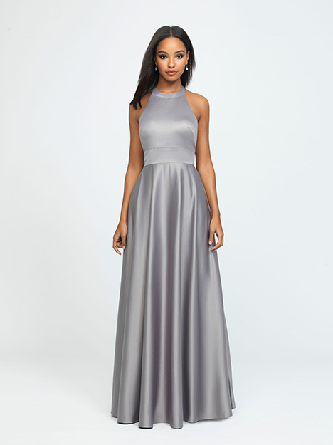 1603 gown from the 2019 Allure Bridesmaids collection, as seen on Bride.Canada
