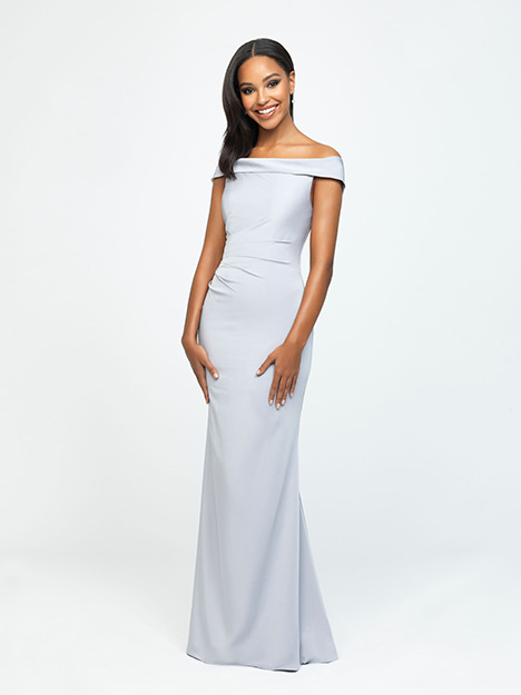 1605 gown from the 2019 Allure Bridesmaids collection, as seen on Bride.Canada