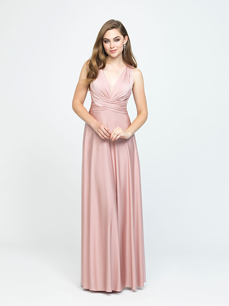 1606 gown from the 2019 Allure Bridesmaids collection, as seen on Bride.Canada