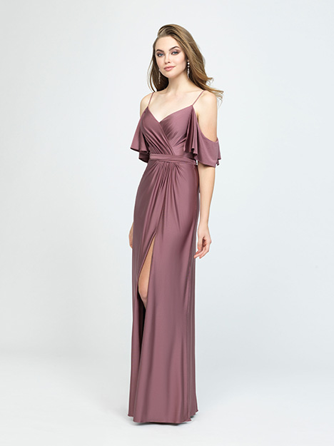 1607 gown from the 2019 Allure Bridesmaids collection, as seen on Bride.Canada