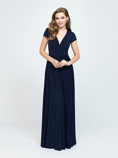 1608 gown from the 2019 Allure Bridesmaids collection, as seen on Bride.Canada